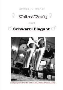 Weiß & Wenig meets Schwarz & Elegant